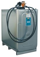 1000 litrů kompletní nádrž na naftu (čerpadlo, výdejní hadic