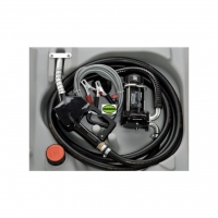 210 litrů mobilní nádrž elektrické čerpadlo na 12V, 40 l/min