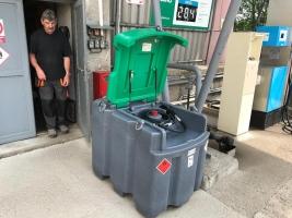Mobilní nádrže na naftu