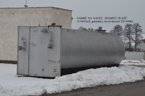 Nádrž na PHM 33 000 litrů