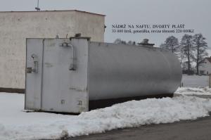 Nádrž pro čerpací stanici - nafta