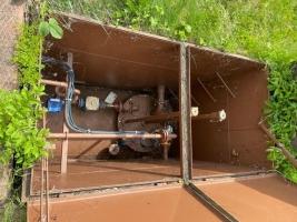 nádrž vhodná na naftu/benzin 10m3 na prodej