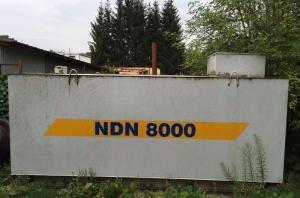 Ocelová nádrž na PHM NDN 8000