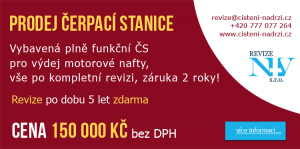 Prodej čerpací stanice v TOP stavu