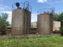 Prodej nadzemních nádrží 2x68m3