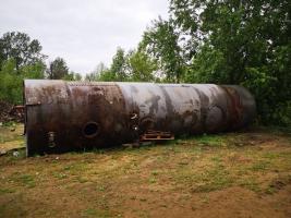 Silnostěnná ocelová nádrž 50m3