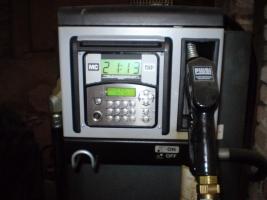 Výdejní zařízení PIUSU, nádrž na 1000 l + software